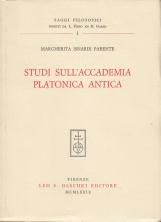 Studi sull'accademia platonica antica