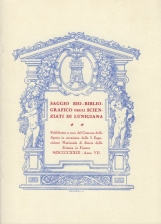 Saggio Bio-Bibliografico degli scienziati di Lunigiana