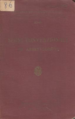 Segni convenzionali ed abbreviazioni