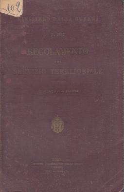 Regolamento sul servizio territoriale