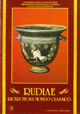 Rudiae. Ricerche sul mondo classico. 9