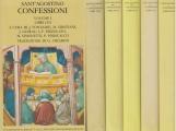 Confessioni Tutti e 5 i volumi, Volume I Libri I-III - Volume II Libri IV-VI - Volume III Libri VII-IX - Volume IV Libri X-XI - Volume V Libri XII-XIII