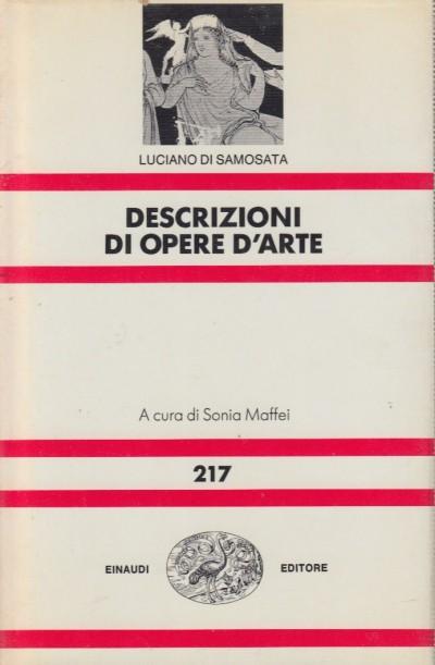 Descrizioni di opere d'arte - Luciano Di Samosata