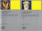 Il sapere greco Dizionario Critico I due volumi Volume I Volume II