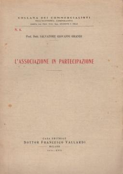 L'associazione in partecipazione
