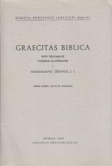 Graecitas biblica Novi Testamenti exemplis illustratur