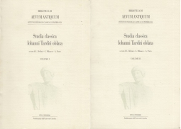 Studia classica Iohanni Tarditi oblata 2 Volumi Volume I Volume II
