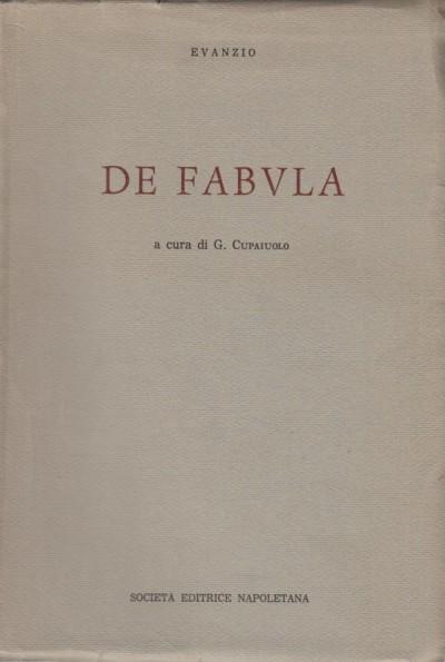 De fabula - Evanzio