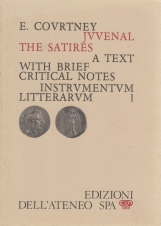 Juvenal Te Satires. A text with brief critical notes