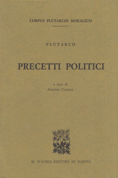 Precetti politici - Plutarco