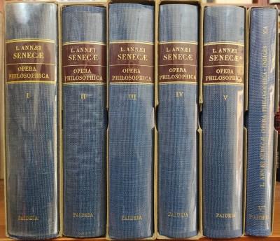 Opera philosophica opera completa in 6 tomi - Lucio Anneo Seneca