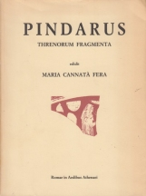 Pindarus Threnorum Fragmenta. Pindaro Trenodie