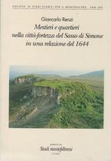 Mestieri e quartieri nella città-fortezza del Sasso di Simone in una relazione del 1644