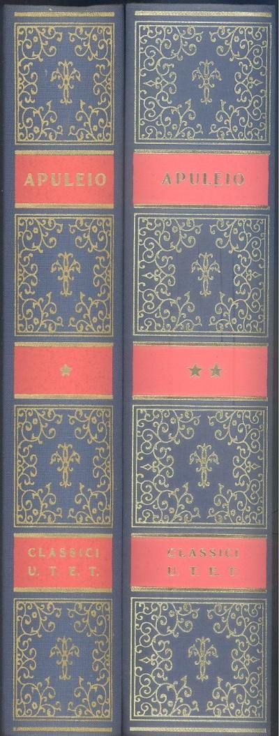 Metamorfosi o asino asino d'oro, l'apologia o la magia, florida - Lucio Apuleio