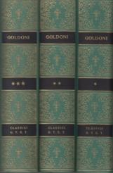 Commedie Volume Primo, Volume Secondo, Volume Terzo