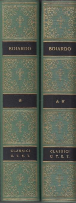 Orlando innamorato, Amorum Libri. A cura di Aldo Scaglione. Volume primo, Volume secondo