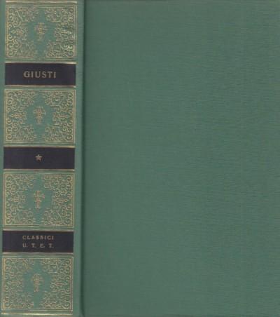 Opere - Giusti Giuseppe