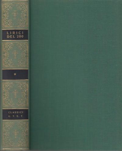 La poesia lirica del duecento - Salinari Carlo (a Cura Di)