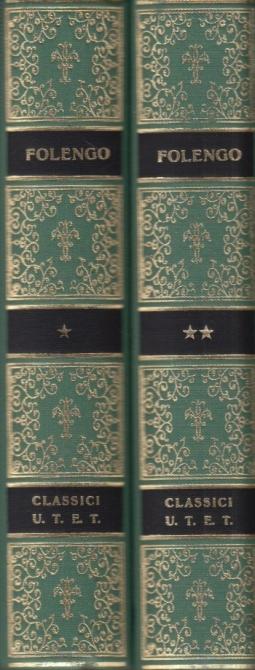 Baldus Volume Primo I-XII Volume Secondo XIII-XXV