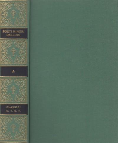 Poeti minori dell'ottocento - Petronio Giuseppe (a Cura Di)