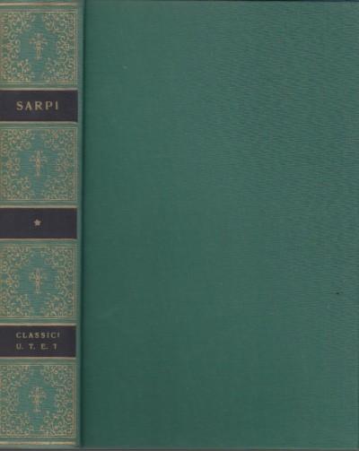 Scritti scelti - Sarpi Paolo