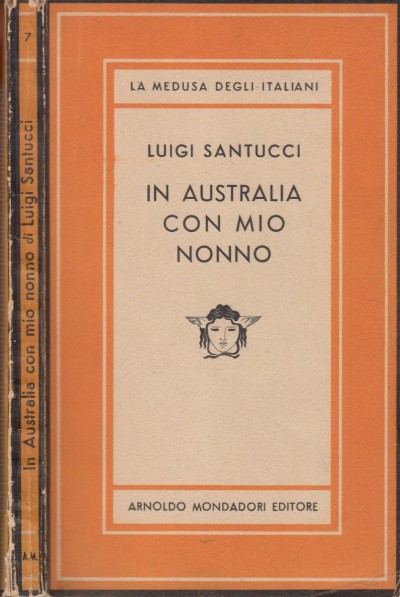 In australia con mio nonno - Santucci Luigi