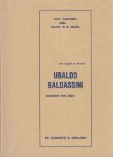 Ubaldo Baldassini. Novecento anni dopo