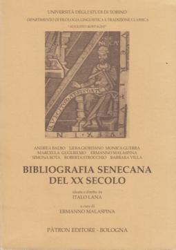 Bibliografia senecana del XX secolo