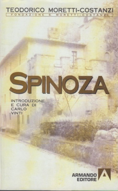 Spinoza - Moretti-costanzi Teodorico