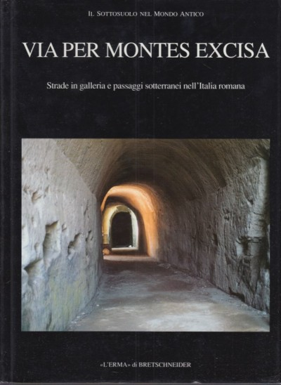 Via per montes excisa. strade in galleria e passaggi sotterranei nell'italia romana - Busana Maria Stella (a Cura Di)