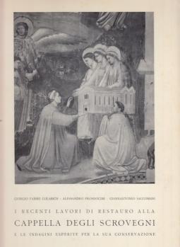 I recenti lavori di restauto alla Cappella degli Scrovegni e le indagini esperite per la sua conservazione