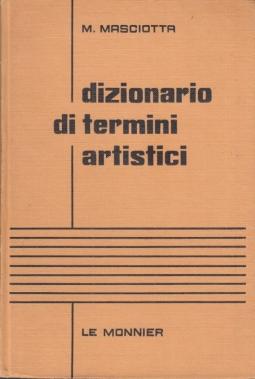 Dizionario dei termini artistici