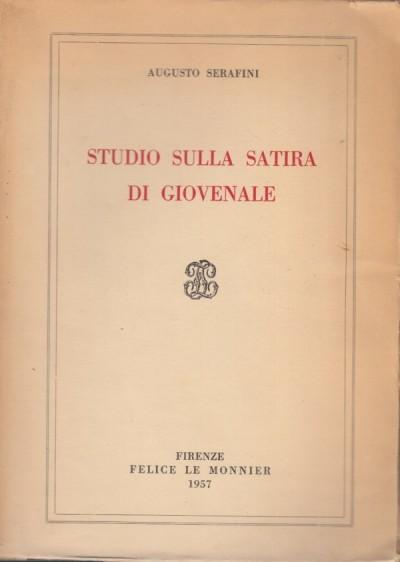 Studio sulla satira di giovenale - Serafini Augusto