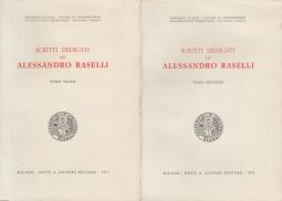 Scritti dedicati ad Alessandro Raselli