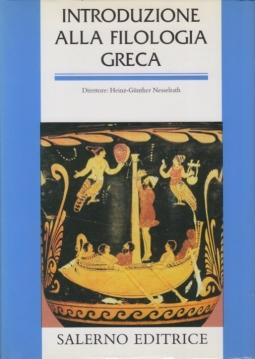 Introduzione alla filologia greca