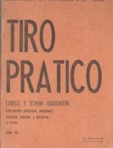 TIRO PRATICO TABELLE E SCHEMI RIASSUNTIVI PUNTAMENTO ARTIGLIERIE DIVISIONALI VERIFICHE TARATURE E RETTIFICHE