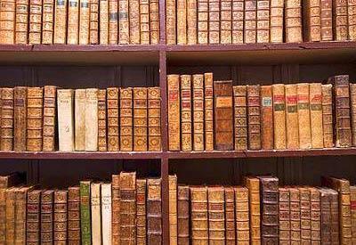 organizzazione scaffali libri
