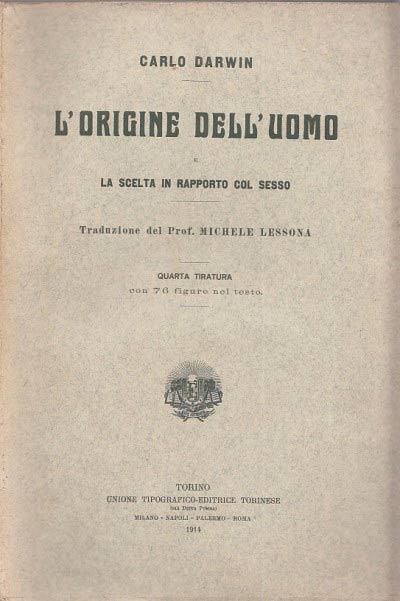 Darwin edizione antica 1914